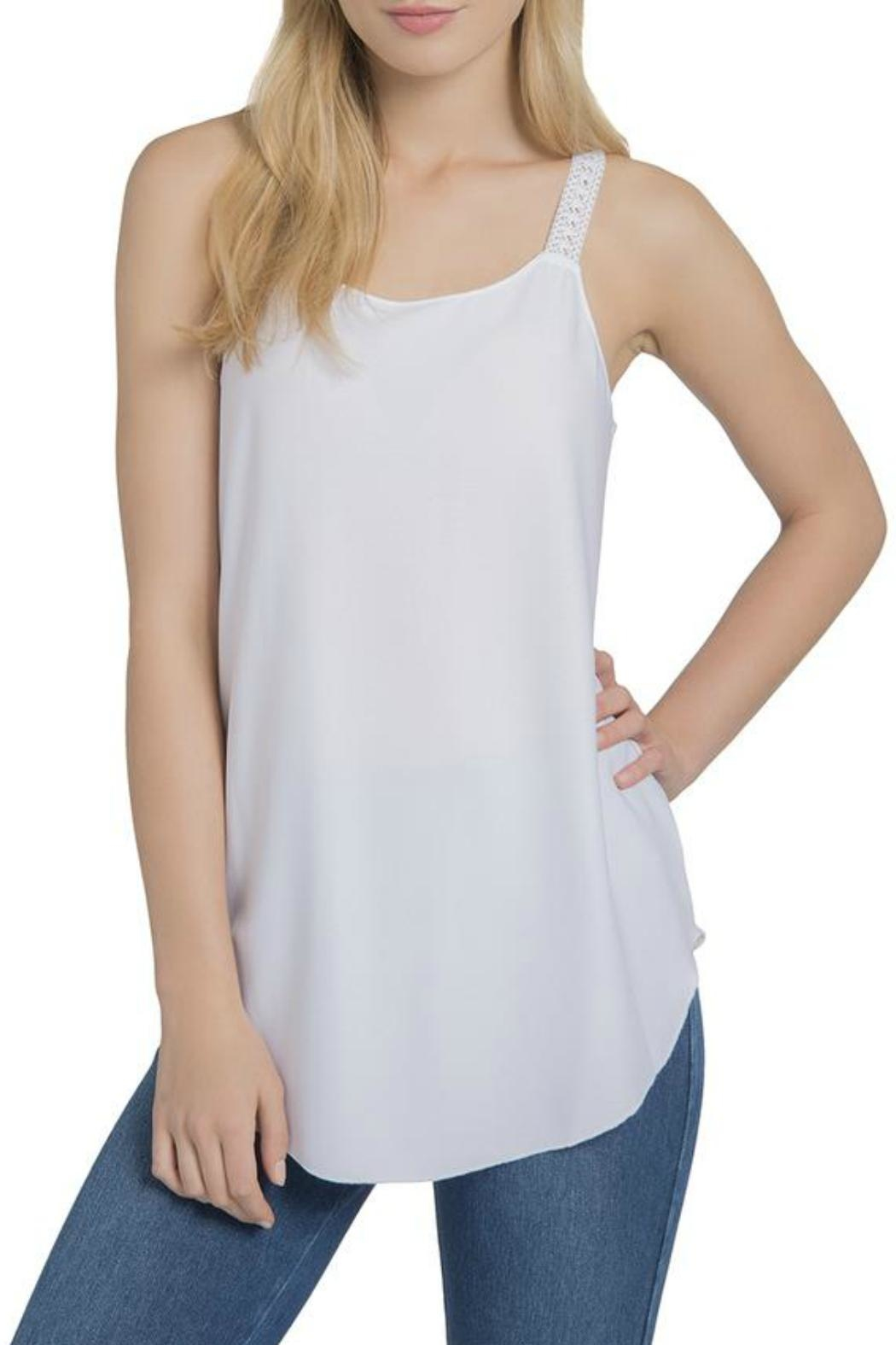 Lysse April Lace Tank - Front Cropped Image