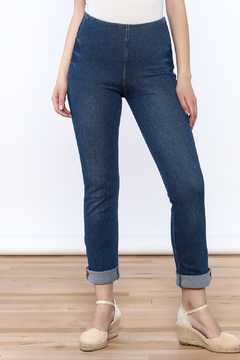 Shoptiques Product: Denim Boyfriend Jeggings