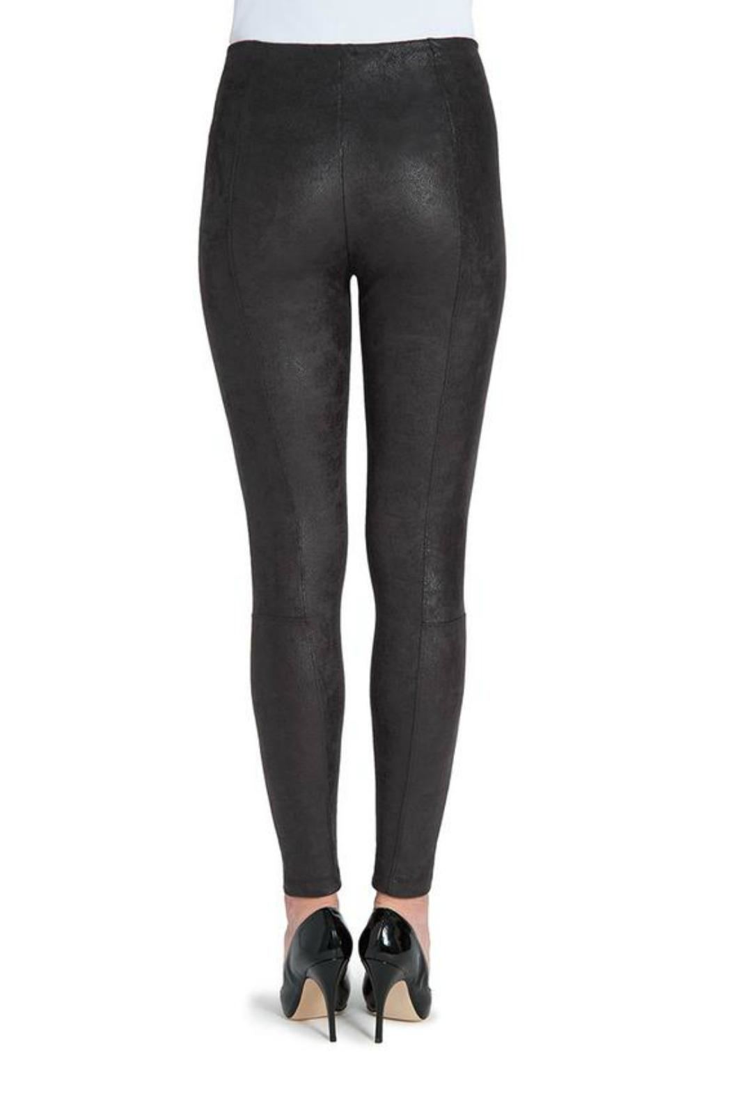 Lysse Buffed Suede Legging - Side Cropped Image