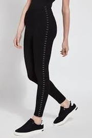 Lyssé Lysse' Color Contrasting Studded Legging - Product Mini Image