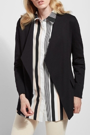 Lysse Draped Open Jacket - Product Mini Image