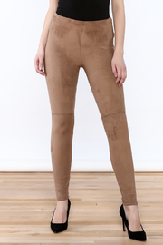Lysse Faux Suede Jegging - Product Mini Image