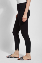 Lysse  Fennel Ankle Slit Legging - Front cropped