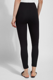 Lysse  Fennel Ankle Slit Legging - Back cropped