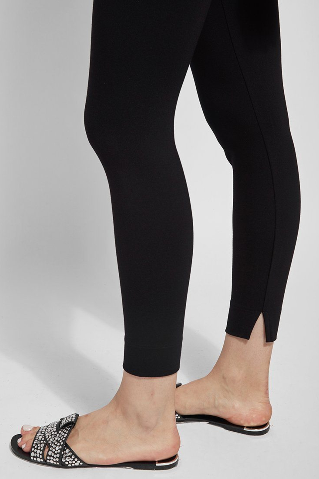 Lysse  Fennel Ankle Slit Legging - Side Cropped Image