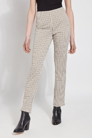 Lyssé Lysse Hounstooth Gold Pant - Product Mini Image