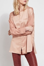 Lyssé Lysse Oversized Satin Blouse - Front full body