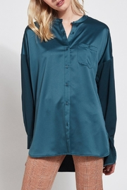 Lyssé Lysse Oversized Satin Blouse - Product Mini Image