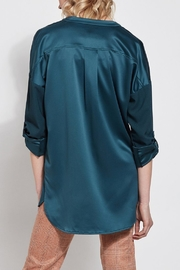 Lyssé Lysse Oversized Satin Blouse - Side cropped