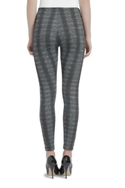 Lysse Plaid Jacquard Jeggings - Side cropped