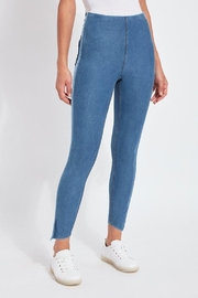 Lysse Side Slit Denim - Product Mini Image