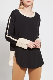 Lyssé Lysse Two-Toned Chiffon Top - Product Mini Image