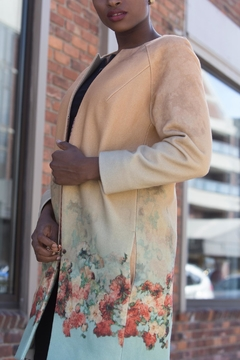 Shoptiques Product: Flower  Ombre Coat