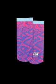 Lyudviga Couture Fun Socks  Neon  Purple/pink - Product Mini Image