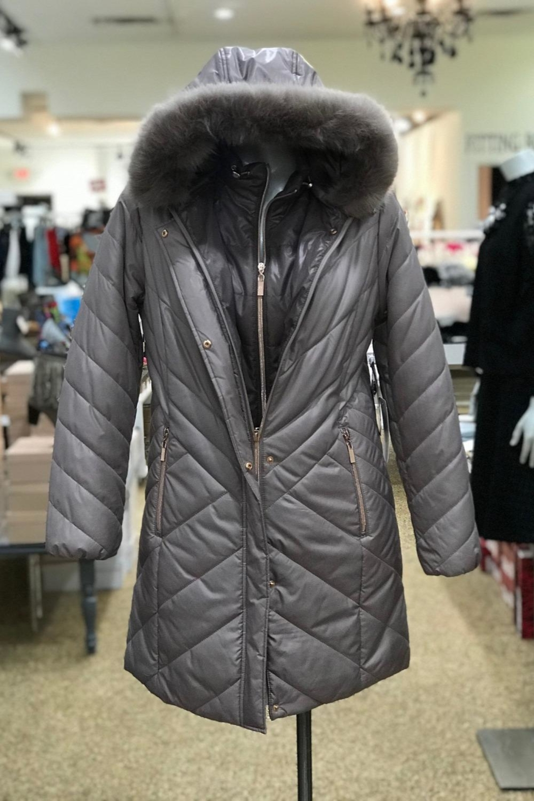 Lyudviga Couture Puffer Jacket - Front Cropped Image