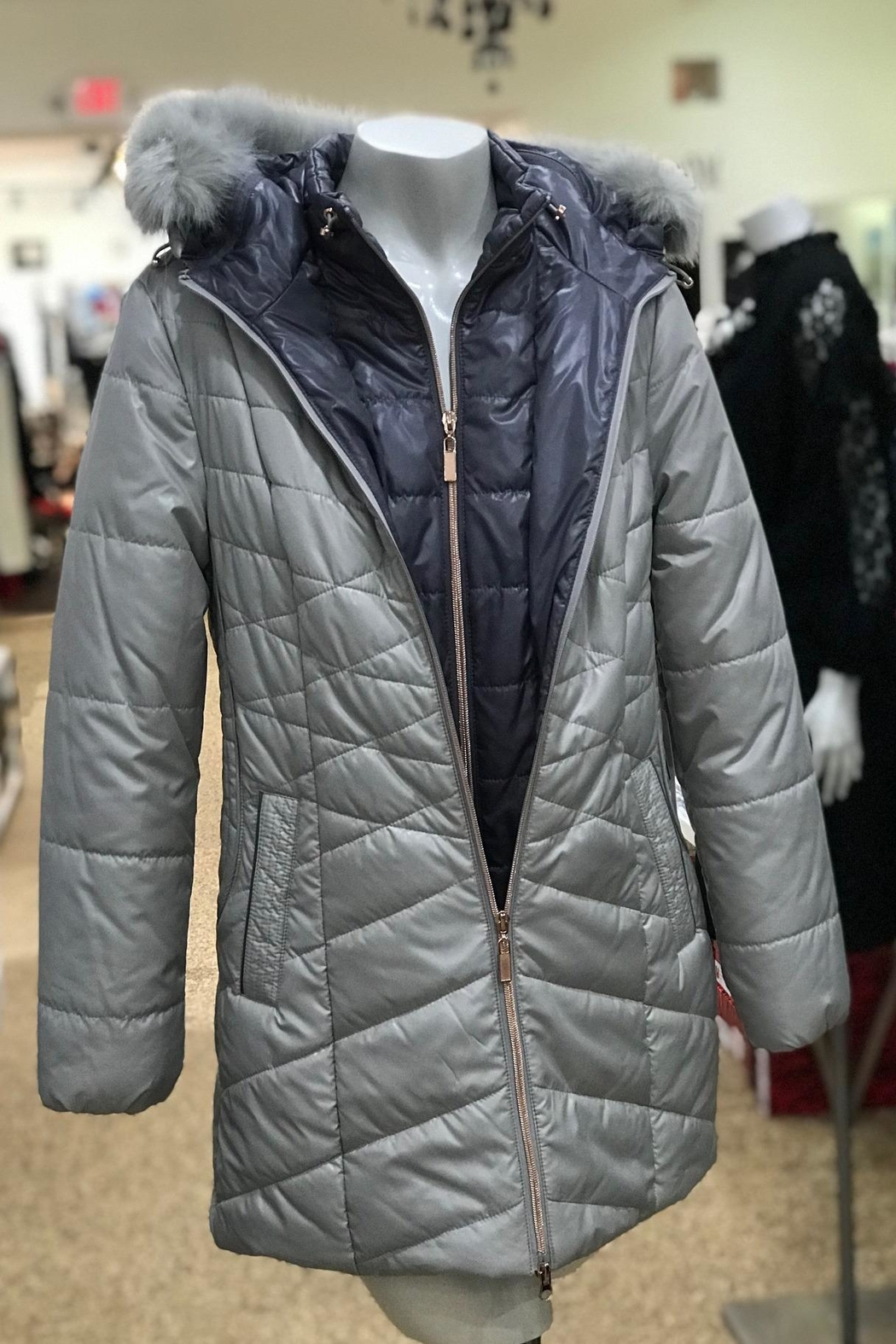 Lyudviga Couture Puffer Jacket - Front Full Image