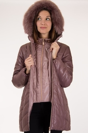 Lyudviga Couture Puffer Jacket - Front cropped
