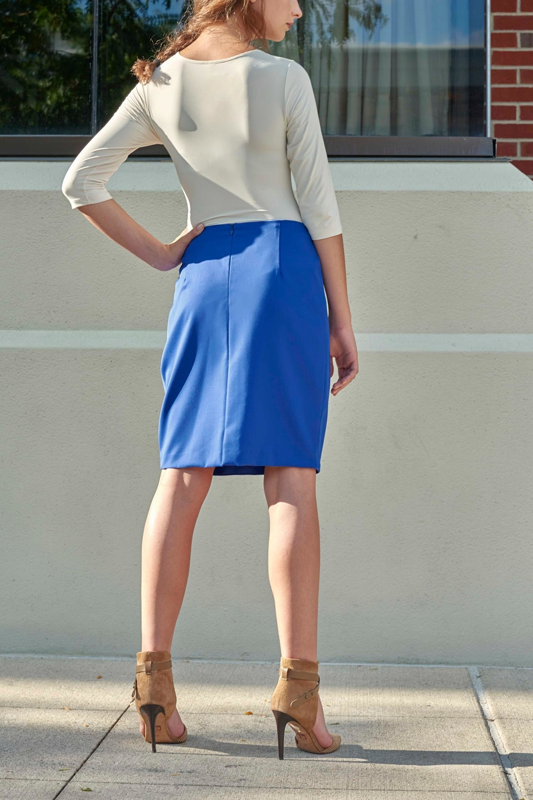Lyudviga Couture Tulip Skirt - Front Full Image