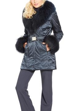 M. Miller Furs Ana Shawl Collar Coat - Alternate List Image