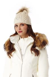M. Miller Furs Astrid Natural Coat - Front full body
