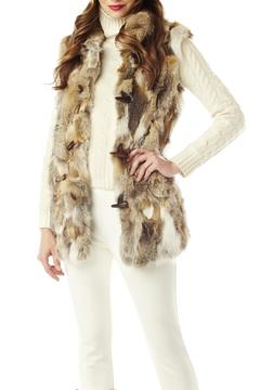 M. Miller Furs Long Fur Vest - Alternate List Image
