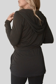 M. Rena Black Leisure Jacket - Front full body