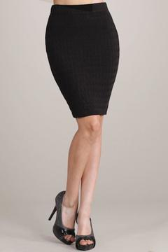 Shoptiques Product: Cable Sweater Skirt