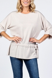 M. Rena Dolman Sleeve Sweater Tunic - Front cropped