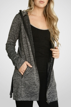 M. Rena Grey Leisurewear Jacket - Product List Image