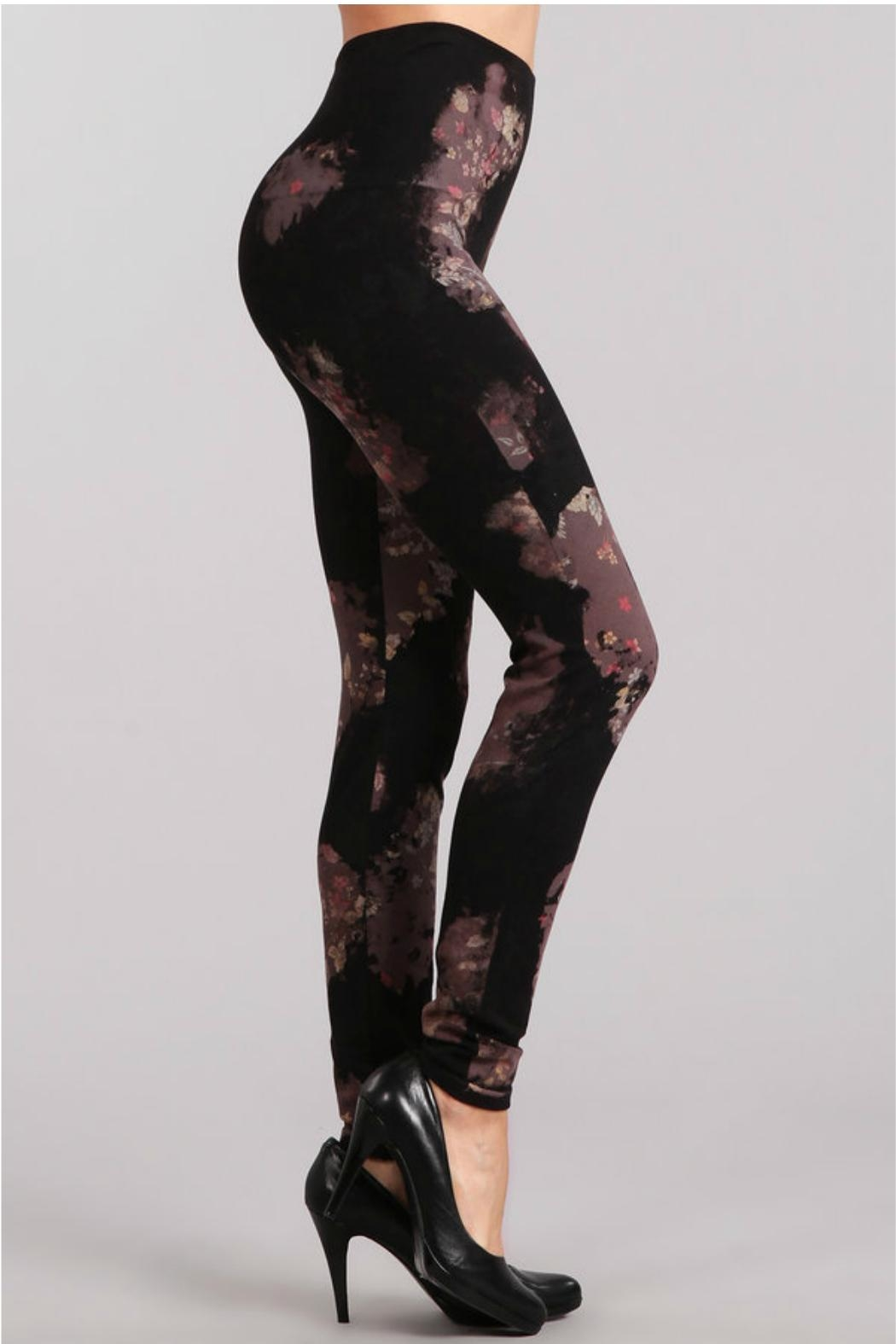 M. Rena High Waist Leggings. - Front Full Image