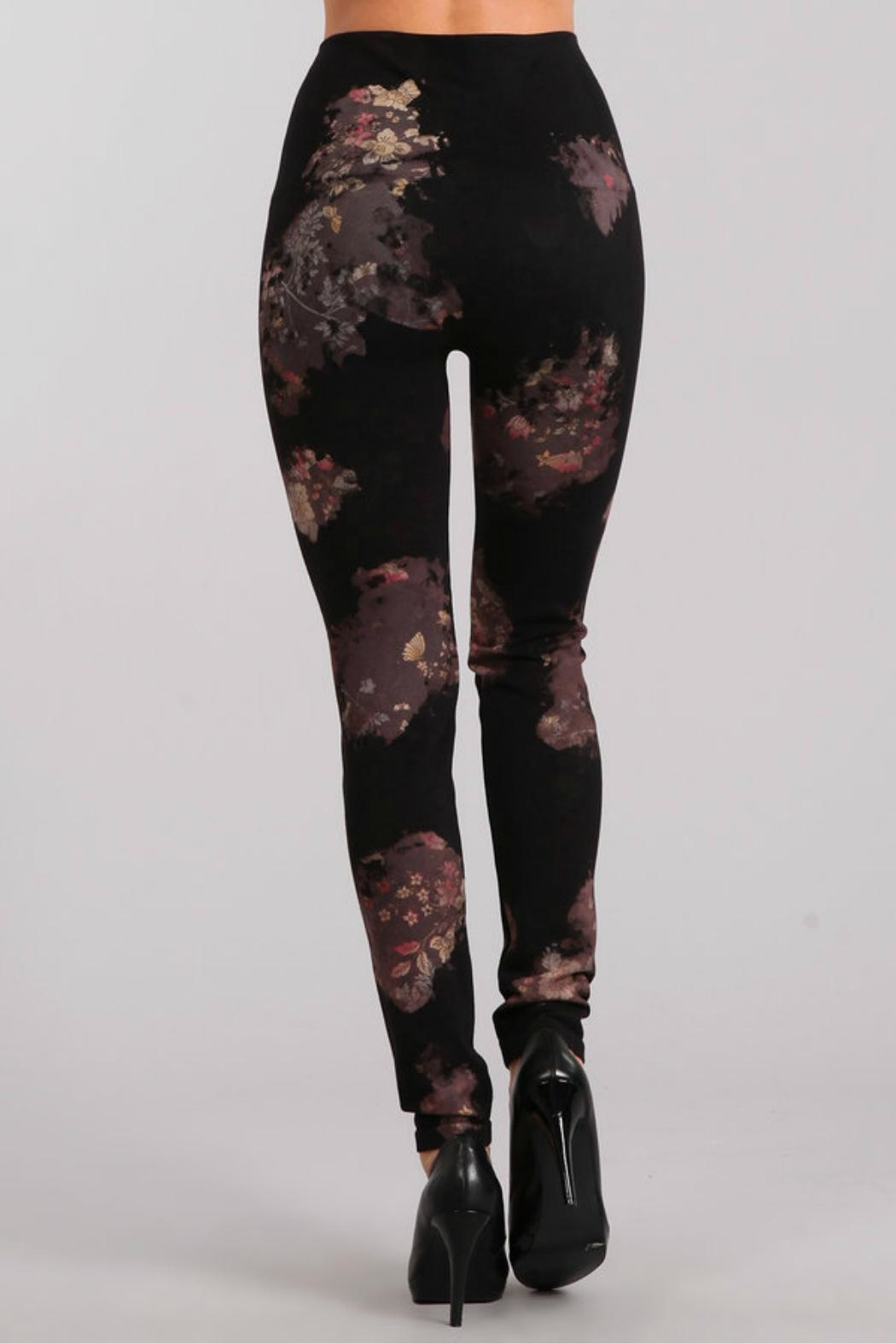 M. Rena High Waist Leggings. - Side Cropped Image
