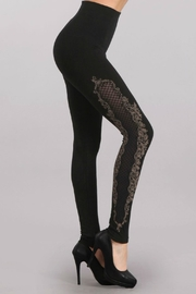 M. Rena High Waisted Lace Legging - Front full body
