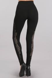 M. Rena High Waisted Lace Legging - Side cropped