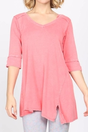 M. Rena Mineral-Wash Asymmetrical Tunic - Product Mini Image