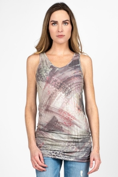M. Rena Reversible Brushed Tank - Product List Image