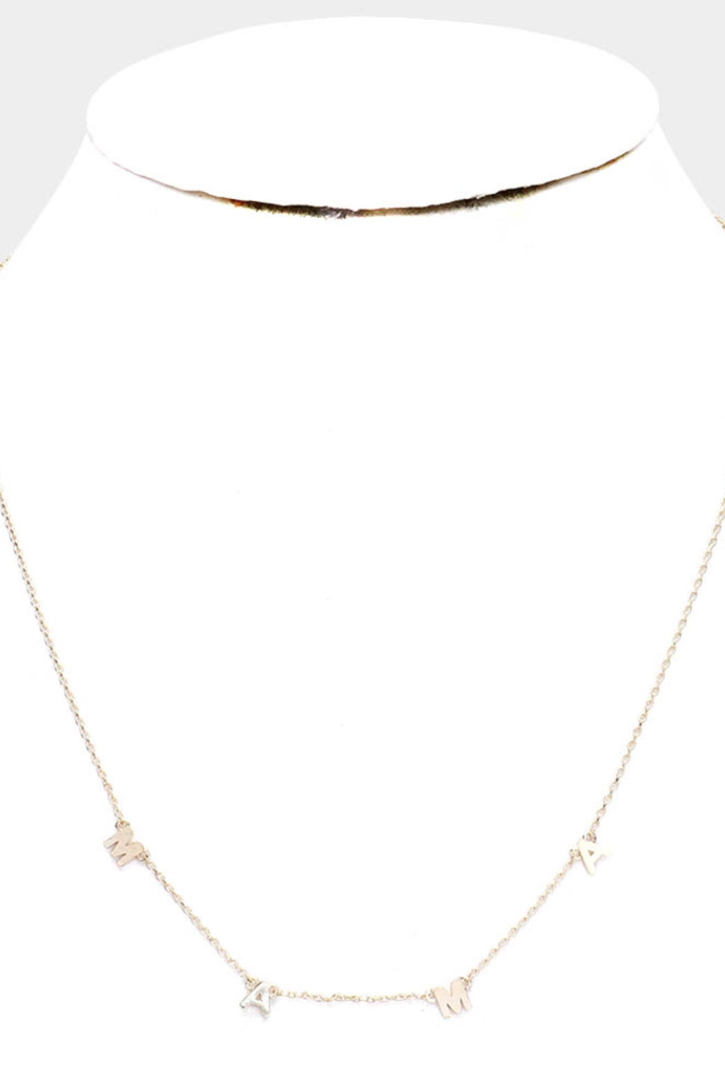 Lyn-Maree's  M-A-M-A Necklace - Front Full Image