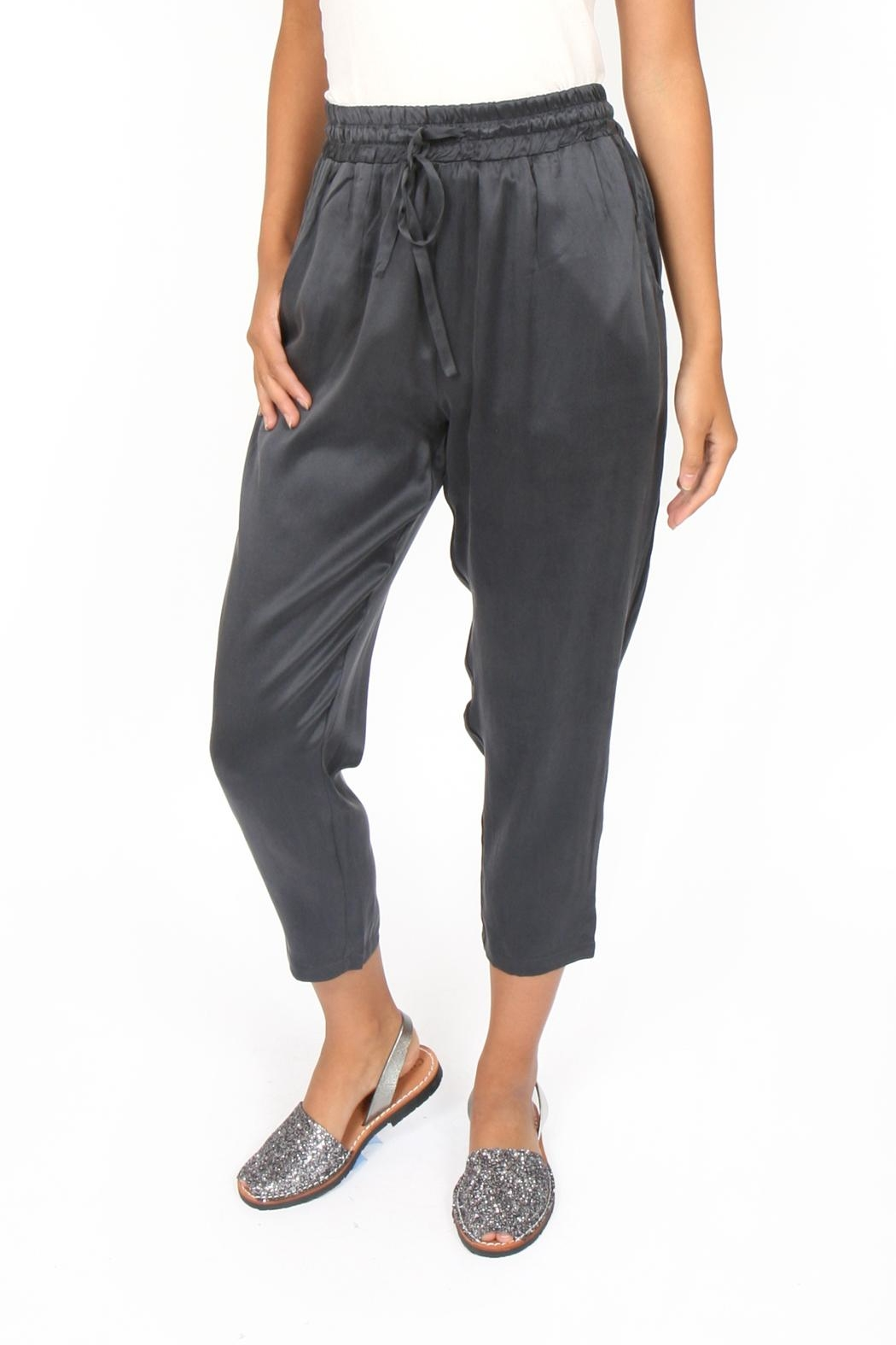 M.A.P. The brand Cropped Silk Pants - Main Image