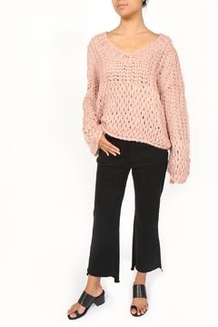 Shoptiques Product: Handknit Chunky Sweater