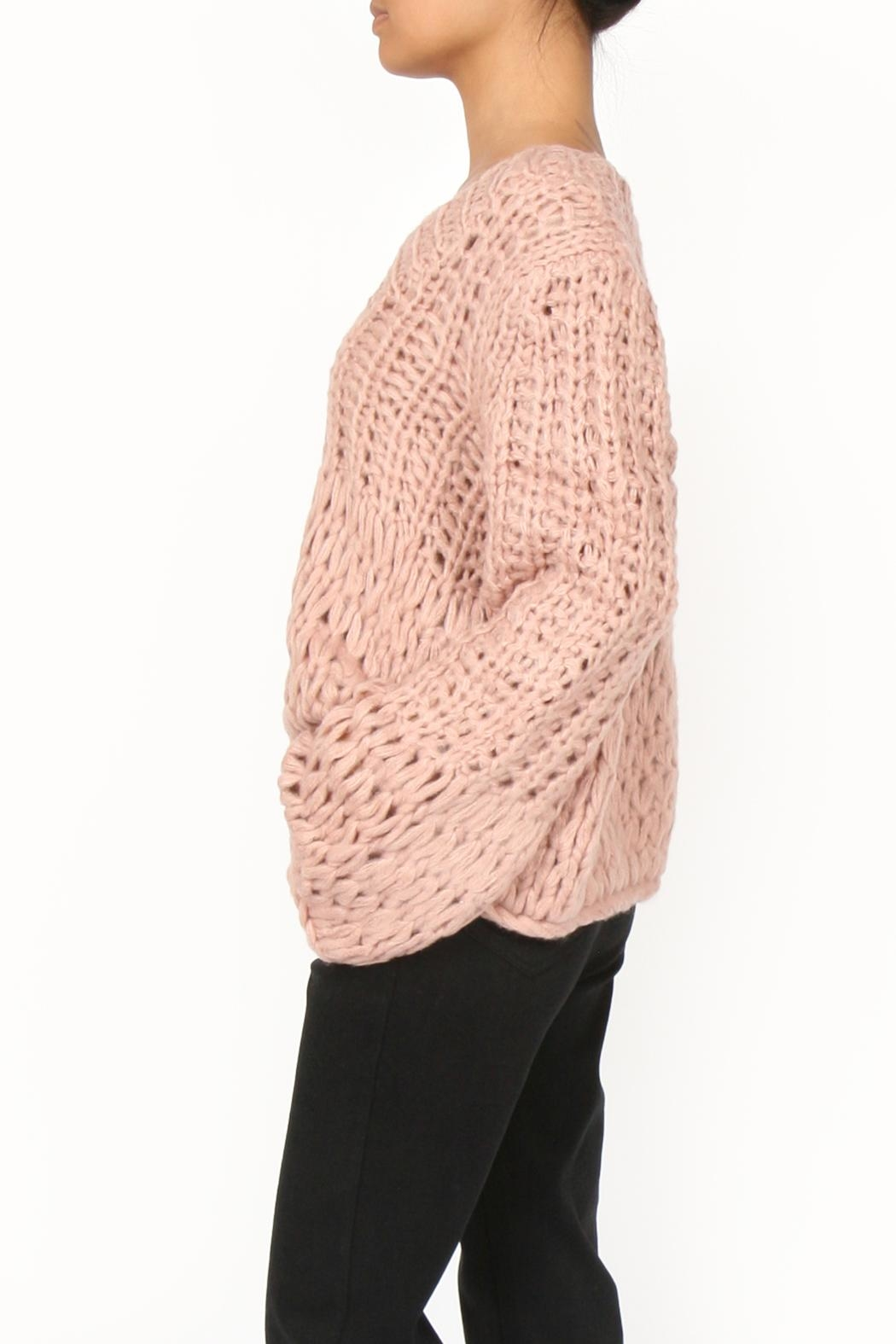 M.A.P. The brand Handknit Chunky Sweater - Front Full Image