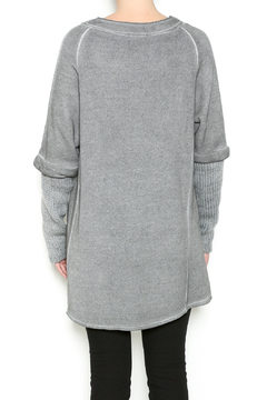 M made in Italy Casual Sweat Jacket - Alternate List Image