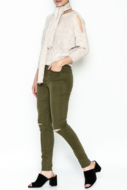 M made in Italy Cut Out Sweater - Side cropped