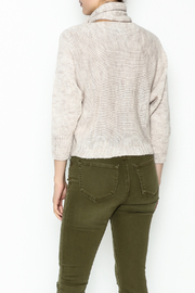 M made in Italy Cut Out Sweater - Back cropped