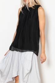 M made in Italy Woven Sleeveless Blouse - Product Mini Image