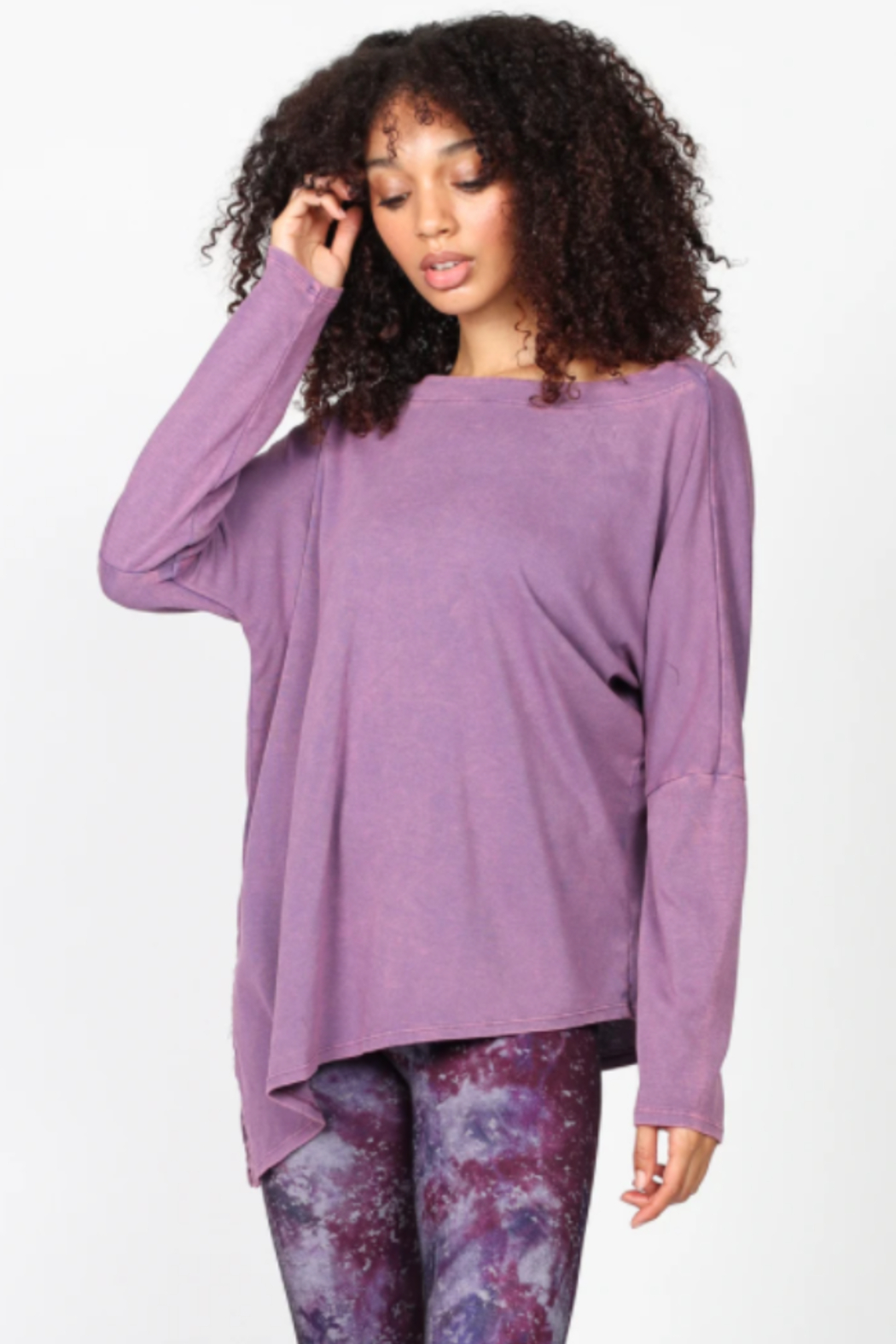 M. Rena  Mineral Wash Tunic - Front Full Image