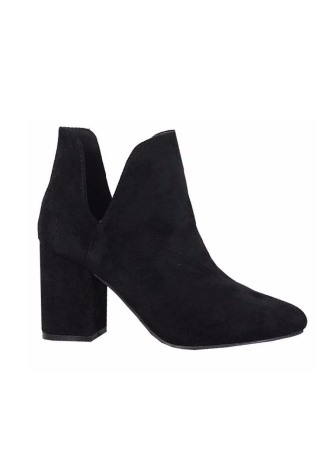 M&Z Sky Shoes Pointed Toe Booties - Main Image