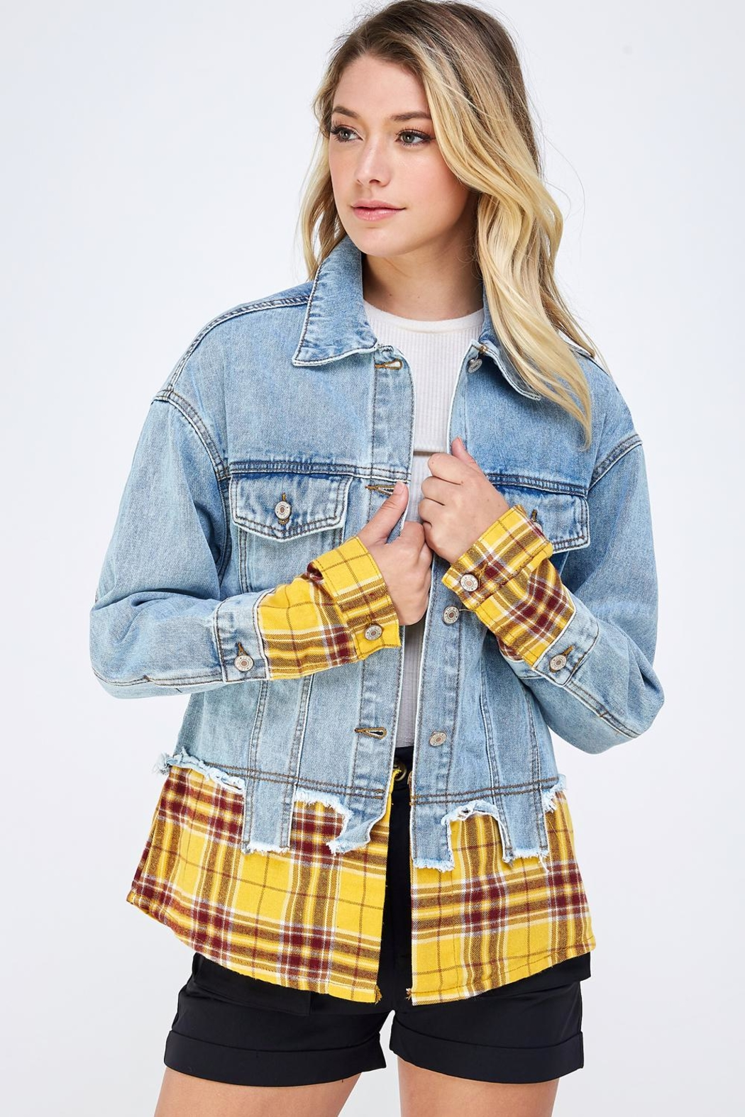 m2 Check Patch Jacket - Main Image