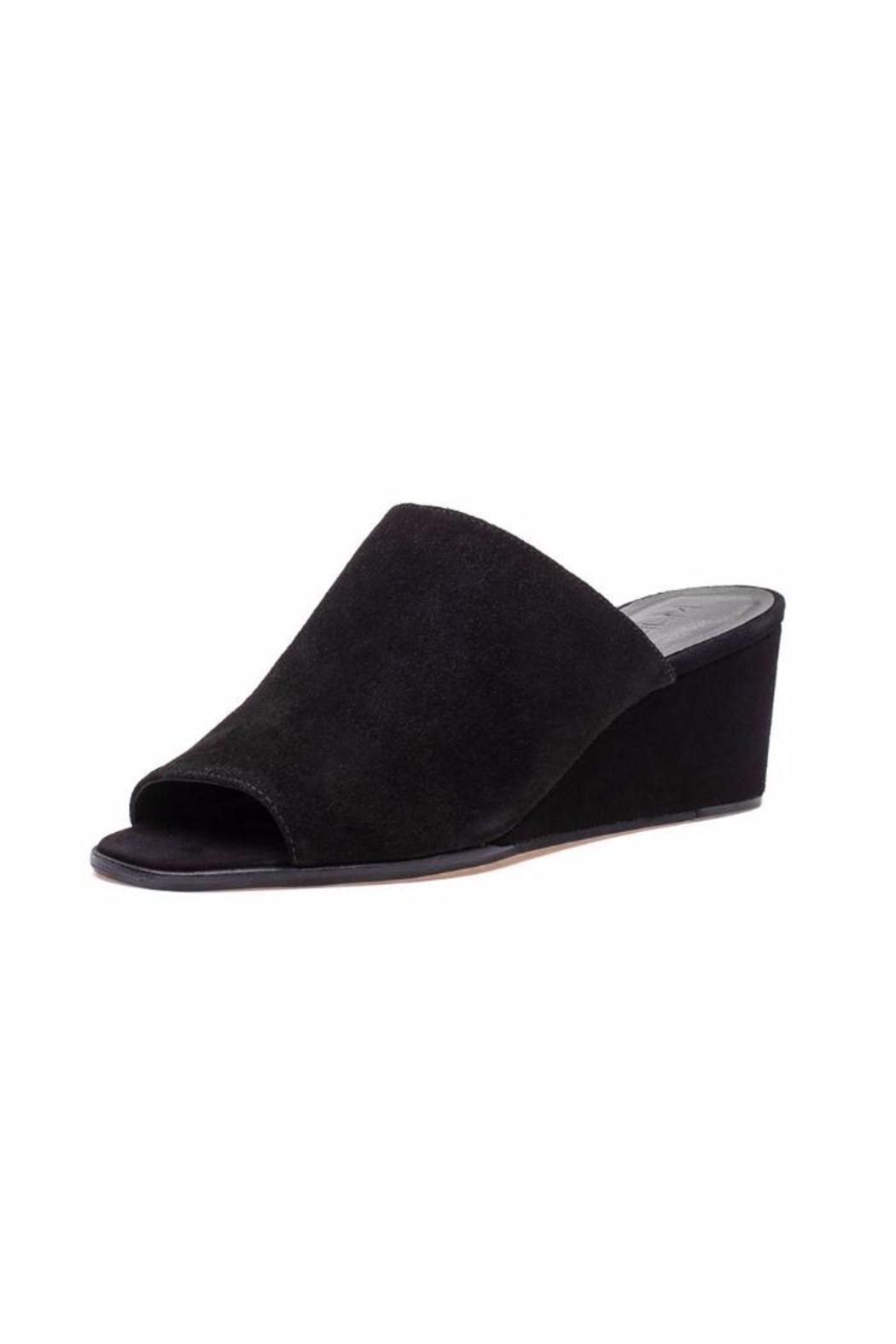 M4D3 Clarah Black Wedges - Main Image