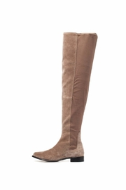 M4D3 Olympia Black Boot - Front full body