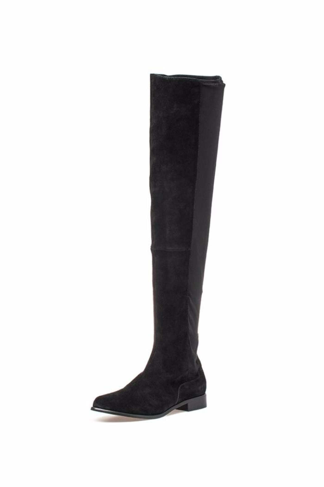 M4D3 Olympia Black Boot - Front Cropped Image