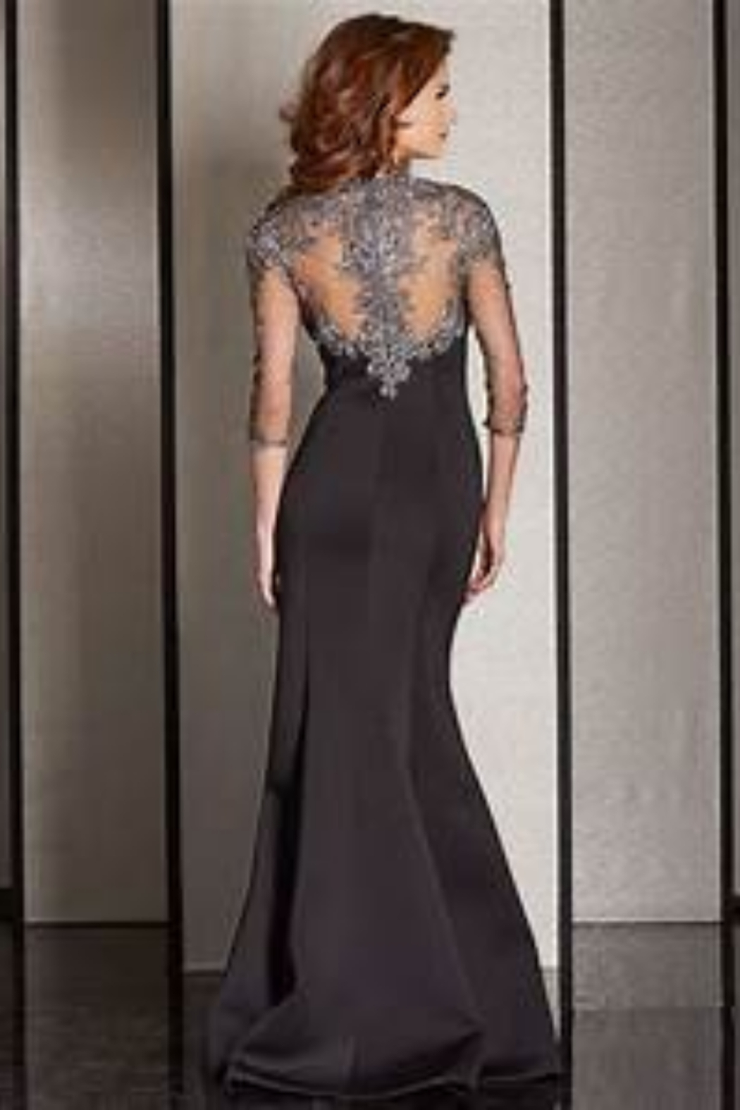 CLARISSE M6204 - long Dress - Front Full Image